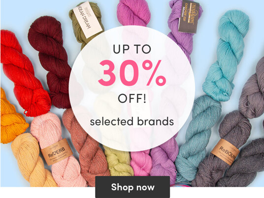 Up to 30 percent off selected brands!