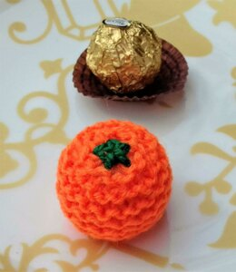Tangerine - Christmas Chocolate Cover