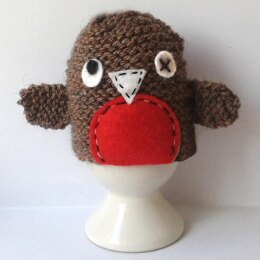 Wonky Robin Egg Cosy for Easter