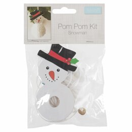 Groves Pom Pom Decoration Kit: Snowman