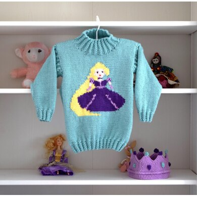 Rapunzel Sweater and Crown