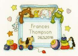 Bothy Threads Toy Box Cross Stitch Kit - 25cm x 18cm
