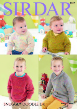 Sweaters in Sirdar Snuggly Doodle DK - 4927 - Downloadable PDF