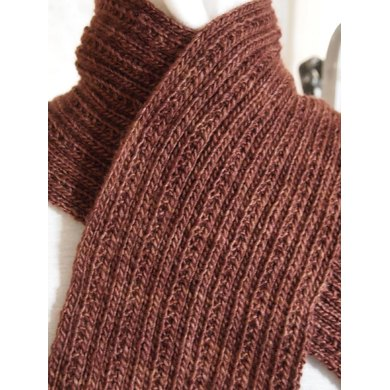 Simply Ribbed Scarf