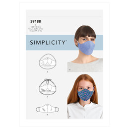 Simplicity Family Face Covers S9188 - Sewing Pattern
