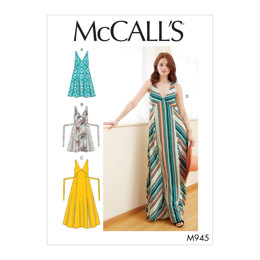 McCall's Misses' Dresses M7945 - Sewing Pattern
