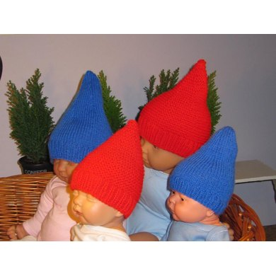 Baby Gnome Hats - 2 designs from 1 pattern