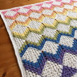 Mix Your Granny Blanket