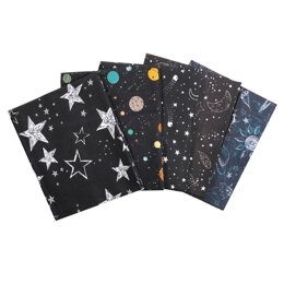 Craft Cotton Company Outer Space Fat Quarter Bundle
