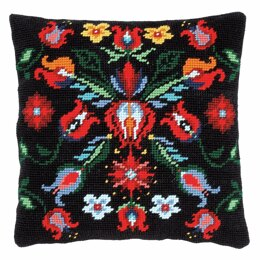Vervaco Tapestry Kit: Cushion: Folklore III