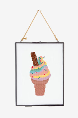 Rainbow Cone in DMC - PAT0792 - Downloadable PDF