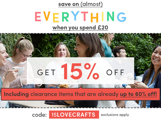 Get 15 percent off (almost) everything when you spend £20! Code: 15LOVECRAFTS