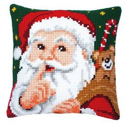 Vervaco Hush Cushion Front Chunky Cross Stitch Kit - 40cm x 40cm