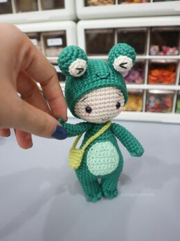Little Jimmy pdf crochet pattern