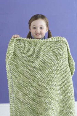 Delightful Tweed Baby Blanket in Lion Brand Vanna's Choice - 81108AD