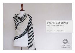 """Promenade Shawl by Toni Lipsey"" - Shawl Crochet Pattern For Women in The Yarn Collective"