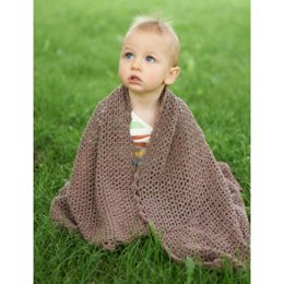 Summer Breeze Baby Blanket in Bernat Vickie Howell Cotton-ish - Downloadable PDF