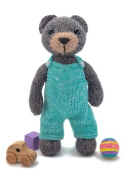 Big Teddy with Overalls