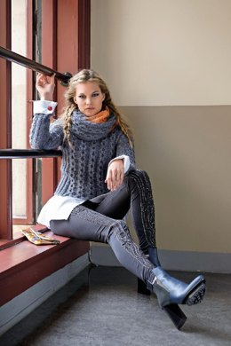 Cable Round Sweater