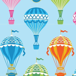 Craft Cotton Company Hot Air Balloon - Multi Balloons