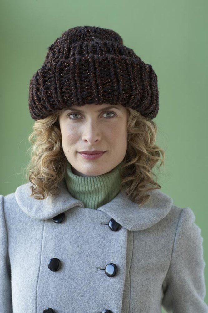 Deluxe Basic Hat In Lion Brand Vanna S Choice 81033ad