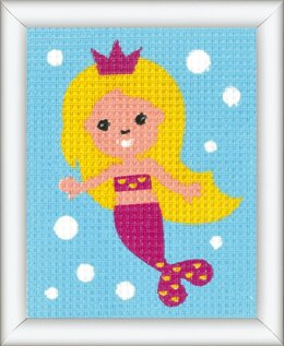 Vervaco Mermaid Tapestry Kit - 12.5 x 16cm