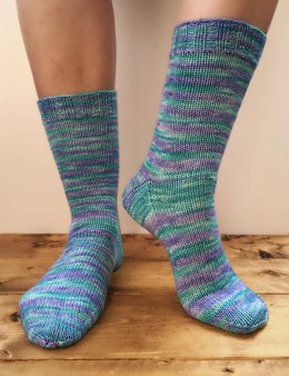 Let the Yarn Shine Socks