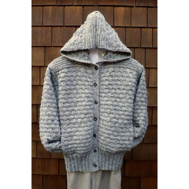 Mari Sweaters MS 183 Basketweave Hoody