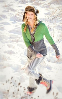 Chill Chaser Cardigan in Spud & Chloe Sweater - 9532