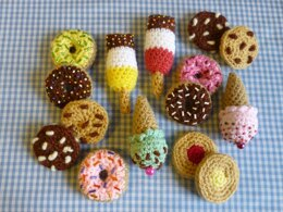 Party Treat Food Amigurumi Crochet Pattern