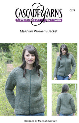 Women's Jacket in Cascade Magnum - C178