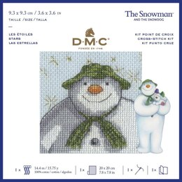 DMC The Snowman - Stars Cross Stitch Kit