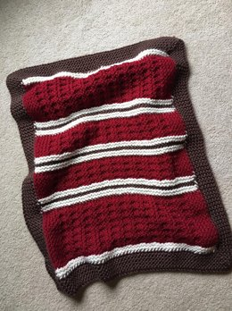Mountain Cabin Baby Blanket