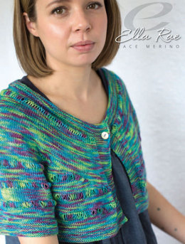 Cici Jacket in Ella Rae Lace Merino - ER18-01