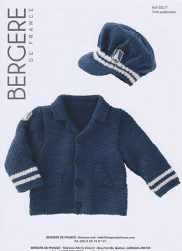 Jacket in Bergere de France Ideal - 33577