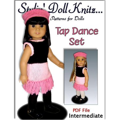 Doll clothes Pattern for American Girl, 18 inch doll. 022
