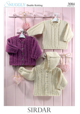 Jackets and Sweater in Sirdar Snuggly DK - 3084 - Downloadable PDF