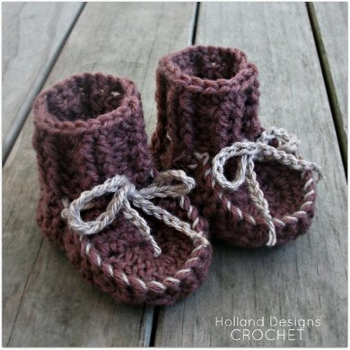 Awesome Moccasin Booties