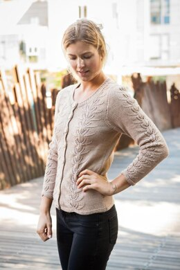 Wheat Sprout Cardigan
