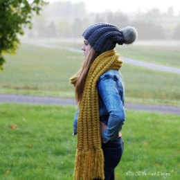 Simply Chill Hat and Scarf Set