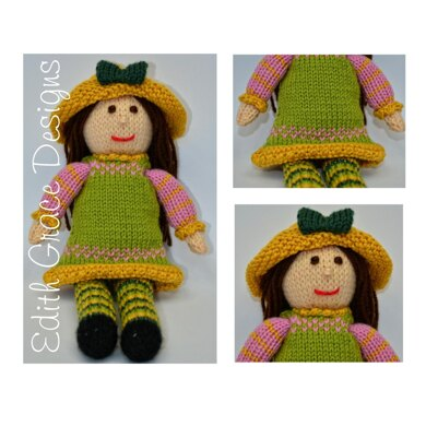 Tulip - A Spring Rag Doll Knitting Pattern