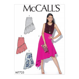 McCall's Misses' Skirts M7725 - Sewing Pattern