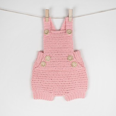 Baby Romper Pure Happiness Crochet Pattern By Croby Patterns