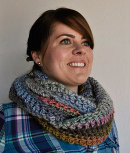 Long Crochet Cowl in Crystal Palace Yarns Chunky Mochi