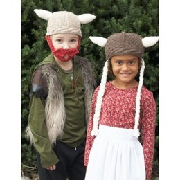 Hagar & Helga Hats in Lily Sugar 'n Cream Solids