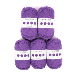 Paintbox Yarns Cotton DK 5er Sparset