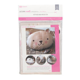Moda Fabrics Cut Sew Create Kitty Bed Toy Panel
