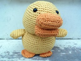 Amigurumi Malcolm the duck