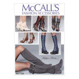 McCall's Misses' Spats M7706 - Paper Pattern One Size Only