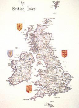 Heritage The British Isles Map Chartpack - Leaflet